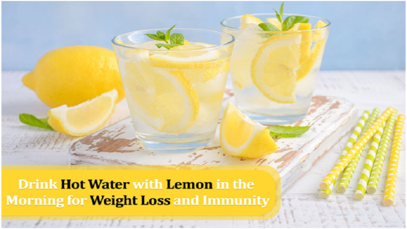 Drink Hot Water with Lemon in the Morning