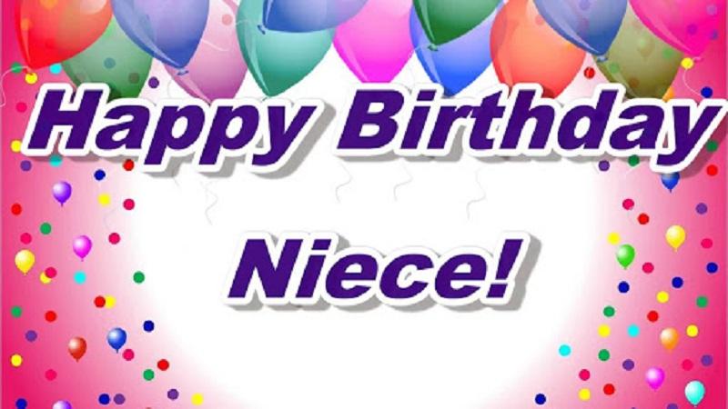 Birthday happy for niece