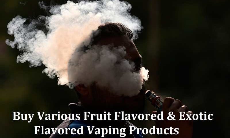 Exotic Flavored Vaping Products